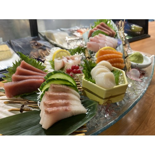 Sashimi especial de Chef (7clases)