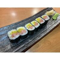 Hosomaki Torotaku (Ventresca de atún c/ nabo amarillo)